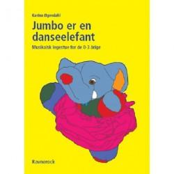 Jumbo er en danseelefant: musikalsk legestue for de 0-3 årige
