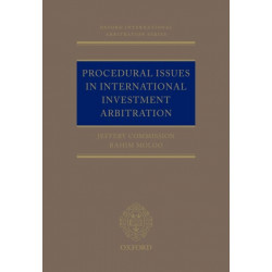 Procedural Issues in International Investment Arbitration