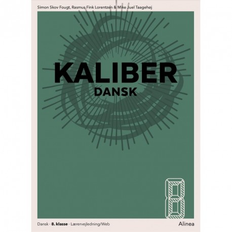 Kaliber: dansk 8, Lærervejledning/web