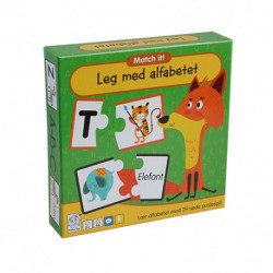 Leg med Alfabetet: Læringspil