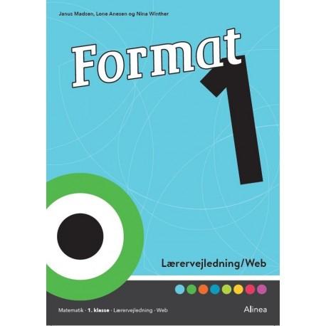 Format - 1: elevbog/web, Lærervejledning/web