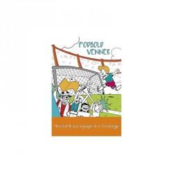 Fodbold venner: Mere end 40 seje tegninger til at farvelægge