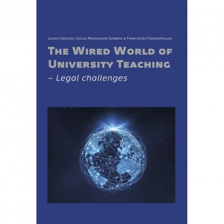 The wired world of university teaching: legal challenges