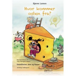 HVOR KOMMER OSTEN FRA - DETEKTIVERNE JANE OG SIMON