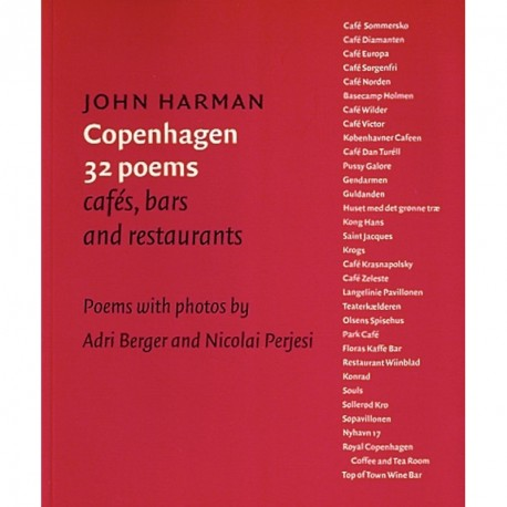 Copenhagen 32 poems: cafés, bars and restaurants - poems