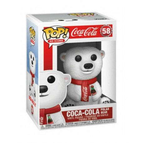 Funko Pop! Icons: Coca-Cola Polar Bear