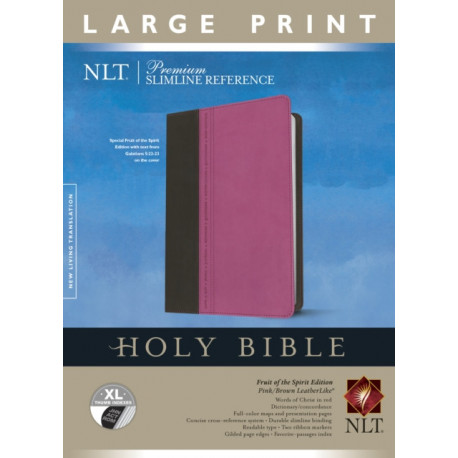 NLT Premium Slimline Reference Bible, Large Print, Indexed