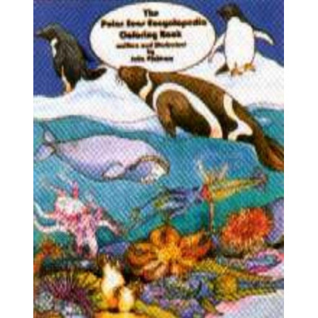 Polar Seas Encyclopedia Coloring Book