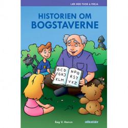 Historien om bogstaverne: Lær med Thor & Freja