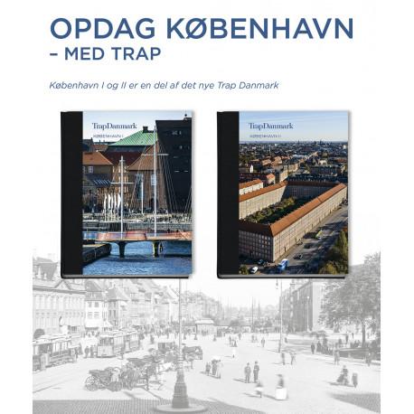 Trap Danmark: København I og II (sampak): Trap Danmark. 6. udgave, bind 32 og 33
