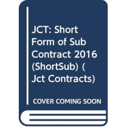 JCT: Short Form of Sub Contract 2016 (ShortSub)