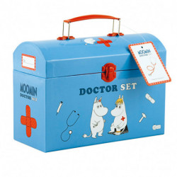 Moomin Doctor set in carry box
