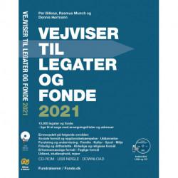 Vejviser til legater og fonde 2021 CD-ROM og USB: CD-ROM og USB i DVD boks