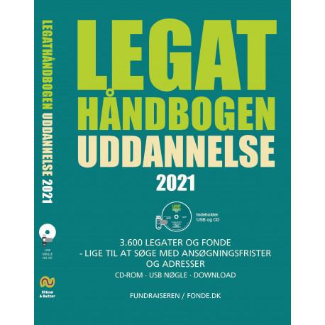 Legathåndbogen uddannelse 2021 CD-ROM og USB: CD-ROM og USB i DVD boks