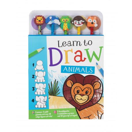 Lær at tegne dyr