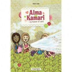 Alma og Kamari og masser af vand