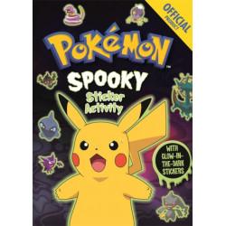 Official Pokemon Spooky Sticker Book