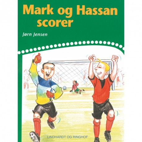 Mark og Hassan scorer