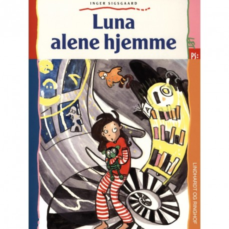 Luna alene hjemme