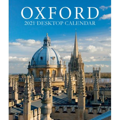 Oxford Large Desktop Calendar - 2021