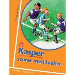 Kasper scorer med hælen