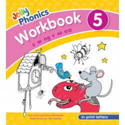 Jolly Phonics Workbook 5: in Print Letters (American English edition)