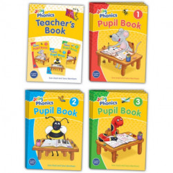 Jolly Phonics Class Set: in Print Letters (British English edition)