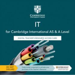 Cambridge International AS & A Level IT Digital Teacher's Resource Access Card