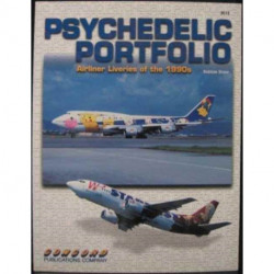 3012: Psychedelic Portfolio: Airliner Liveries of the 1990s3012