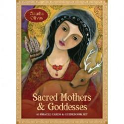 Sacred Mothers & Goddesses Oracle: 40 Oracle Cards & Guidebook Set