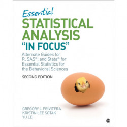 "Essential Statistical Analysis ""In Focus"": Alternate Guides for R, SAS, and Stata for Essential Statistics for the Behavioral Sciences"