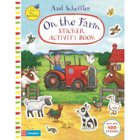 On The Farm Sticker Activity Book