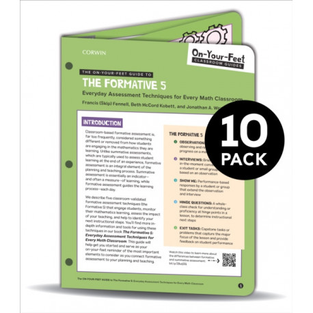 BUNDLE: Fennell: The On-Your-Feet Guide to The Formative 5: 10 Pack
