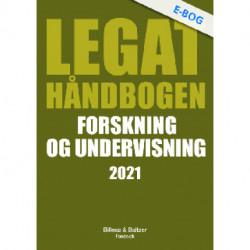 Legathåndbogen Forskning og undervisning 2021
