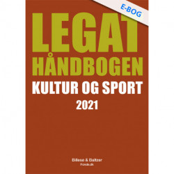 Legathåndbogen Kultur og sport 2021