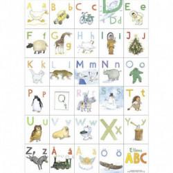 Ellens ABC plakat