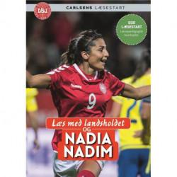 Læs med landsholdet - og Nadia Nadim