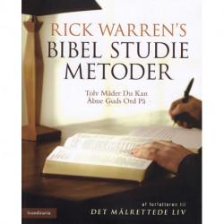 Bibel studie metoder: Tolv måder du kan åbne Guds ord på