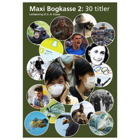 Maxi Bogkasse 2: Letlæsning til 2.-4. klasse