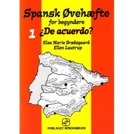 Spansk Øvehæfte for begyndere: De acuerdo