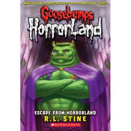 Escape From Horrorland (Goosebumps Horrorland -11)