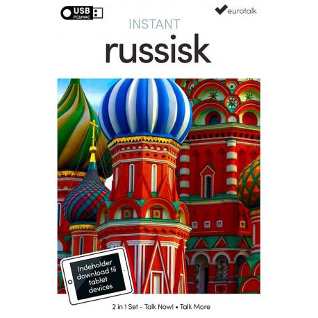 Russisk begynder- og parlørkursus USB & download