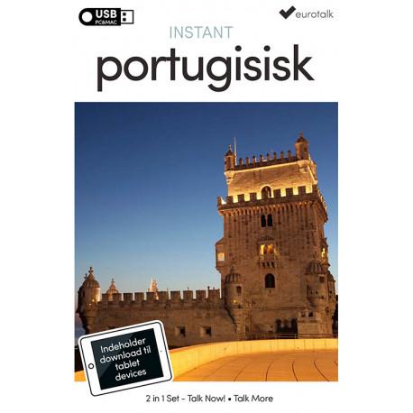 Portugisisk begynder- og parlørkursus USB & download