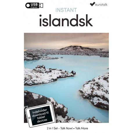 Islandsk begynder- og parlørkursus USB & download