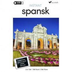 Spansk begynder- og parlørkursus USB & download