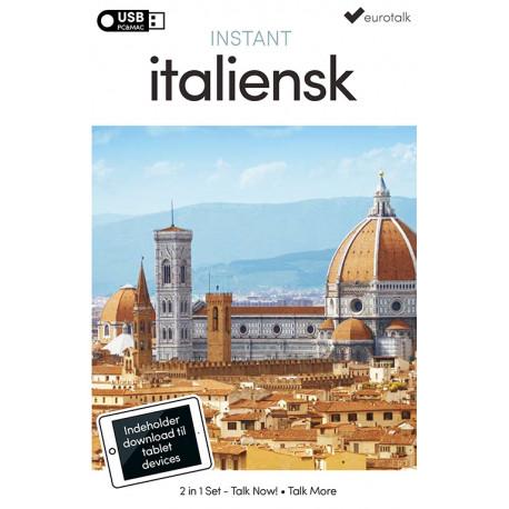 Italiensk begynder- og parlørkursus USB & download