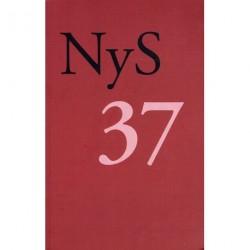 NyS 37: Nydanske Sprogstudier (Løssalg)
