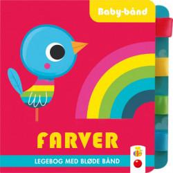 Baby-bånd: Farver: Legebog med bløde bånd
