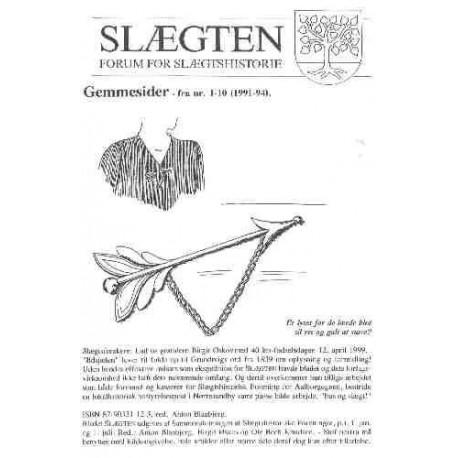 Gemmesider - fra nr. 1-10 (1990-94)