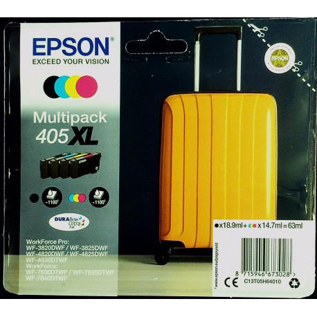Epson T405 Multipack 4-colours XL Ink (C13T05H64010)
